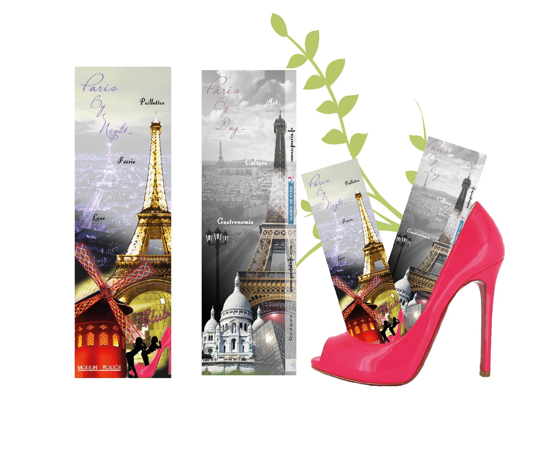 "Paris Marque-page ""Paris"""