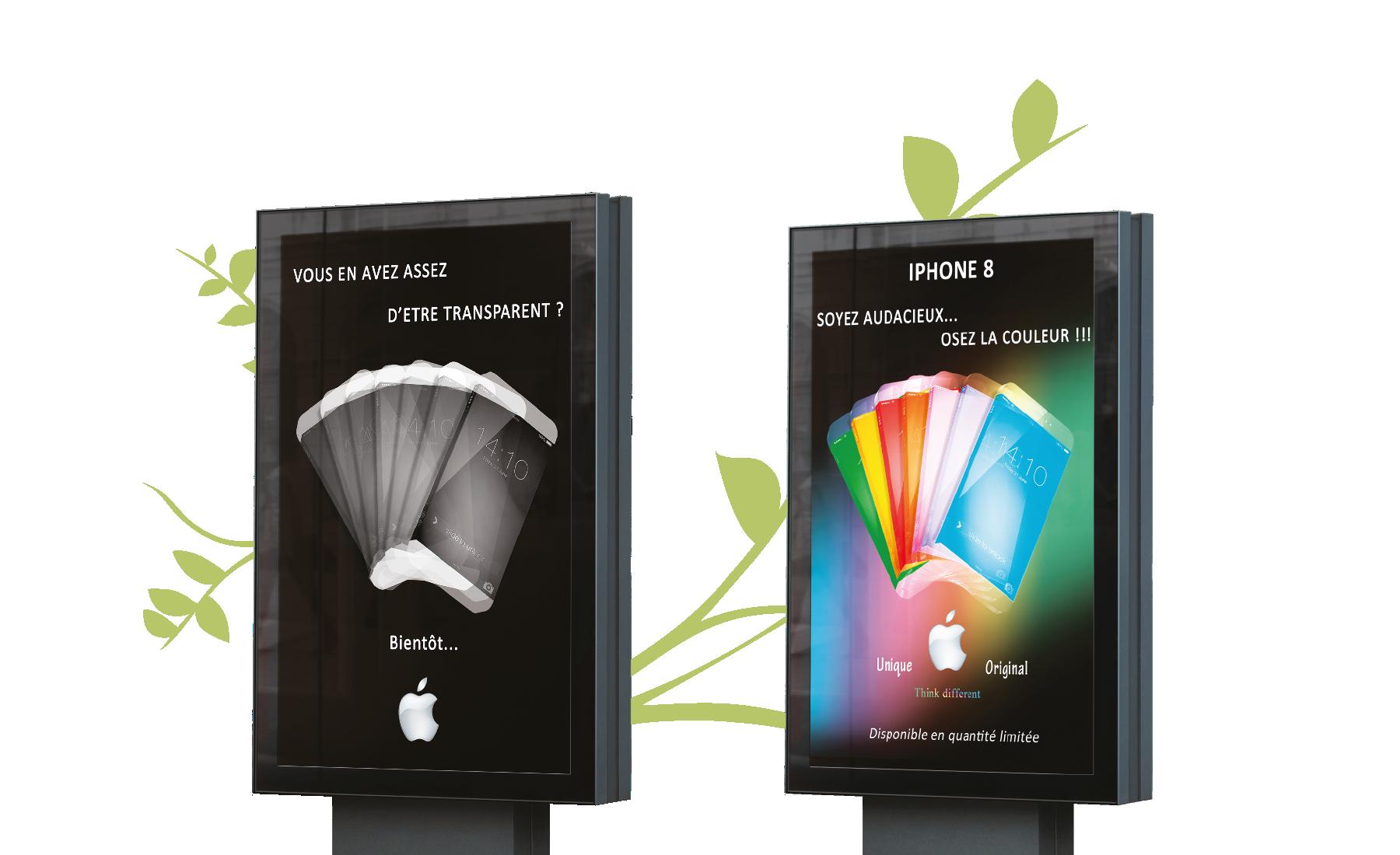 "Smartphone Affiche publicitaire ""Smartphone"""