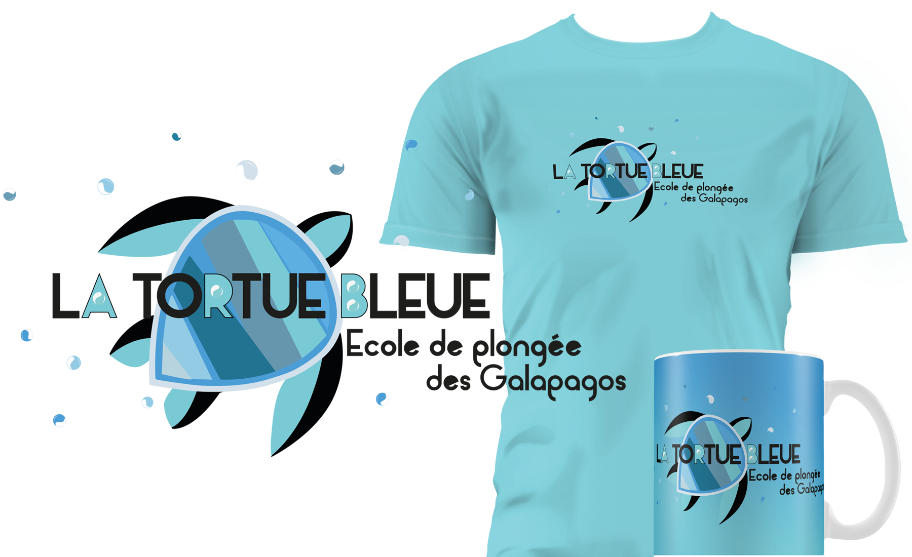 "tortue-bleue Supports de communication ""La tortue bleue"""